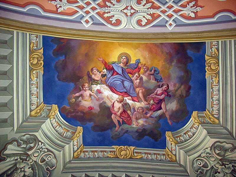 Стінопис «Вознесіння Марії»