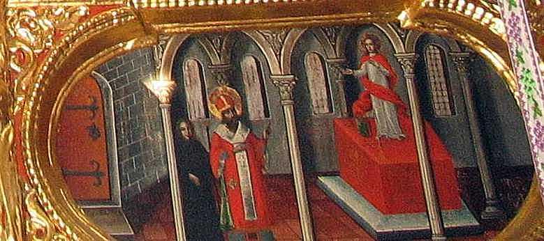 Ісус у храмі (?)