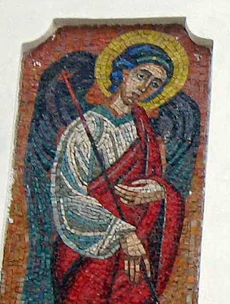 Півпостать ангела ліворуч