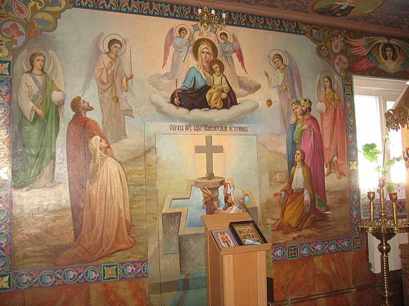 Ікона «Богородиця живоносне джерело»