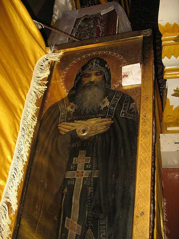 Ікона кн. Федора в гробі