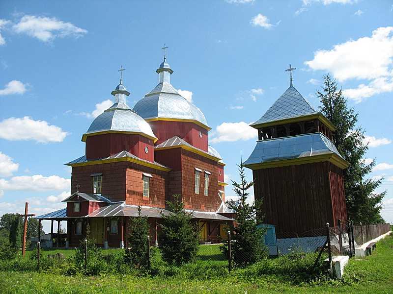 2011 р. Церква і дзвіниця. Вигляд з…