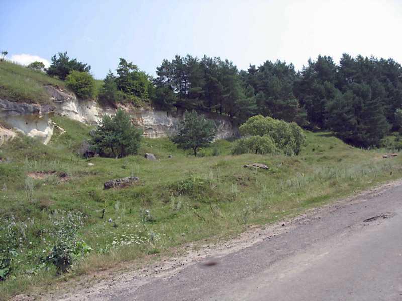 2006 р. Скелі з печерними спорудами (2)