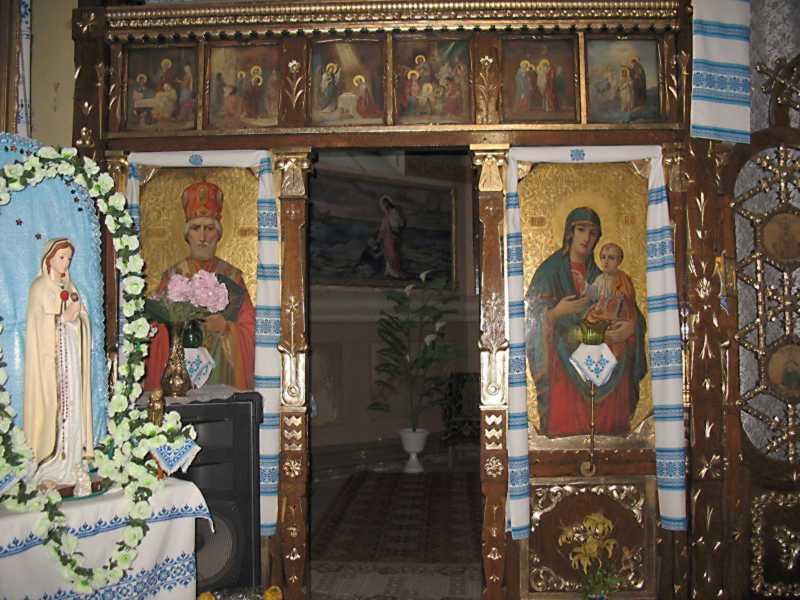 Ліва частина іконостаса (празниковий,…
