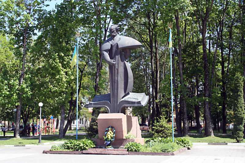 Памятник Тарасу Шевченко – 1992 г.,…