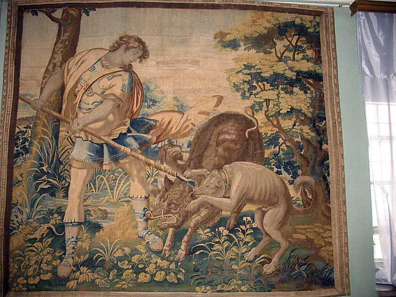 Шпалера «Одісей на ловах»
