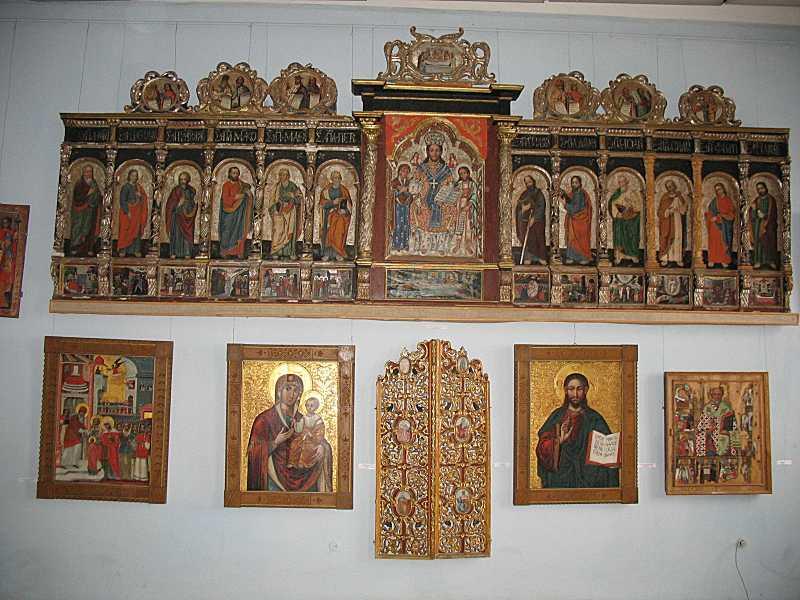 Іконостас роботи Ф. Сеньковича