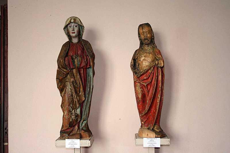 Поліхромні скульптури