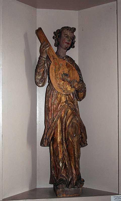 Скульптура «Юнак з лютнею»