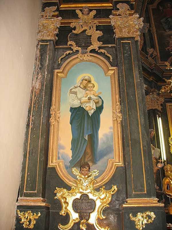 Ікона богородиці з немовлям