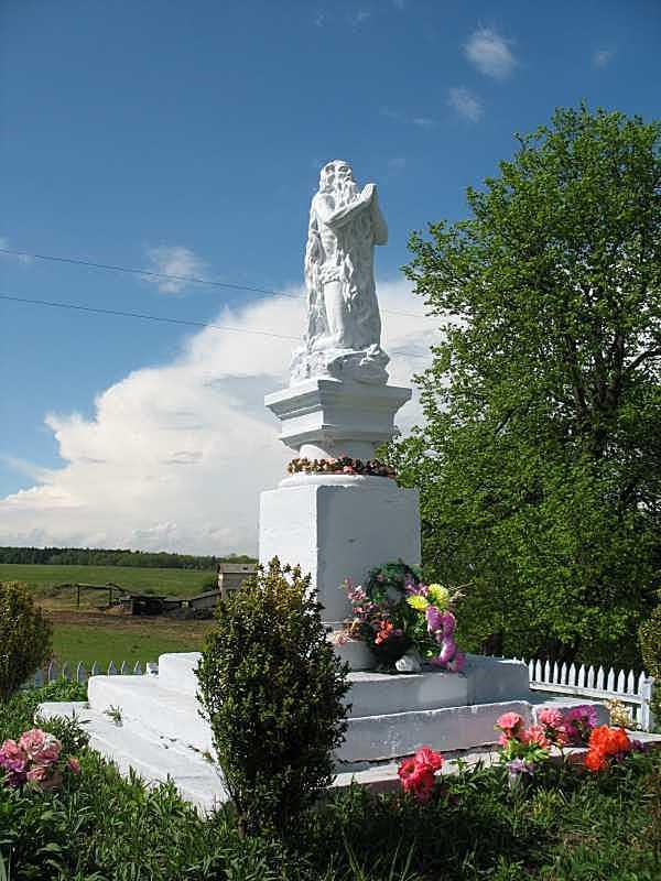Скульптура св. Онуфрія