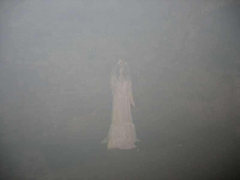 «Привид» на стіні