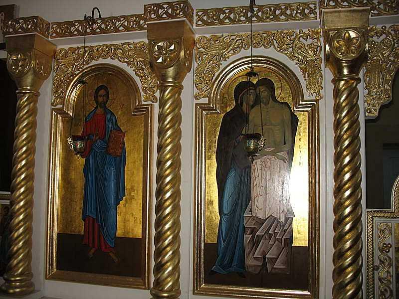 Ікони Ісуса Христа та «Не ридай мене,…