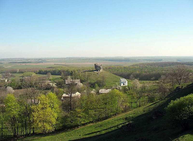 2007 р. Панорама каменю з півдня