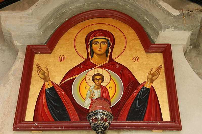 2011 р. Ікона Богородиця Знамення