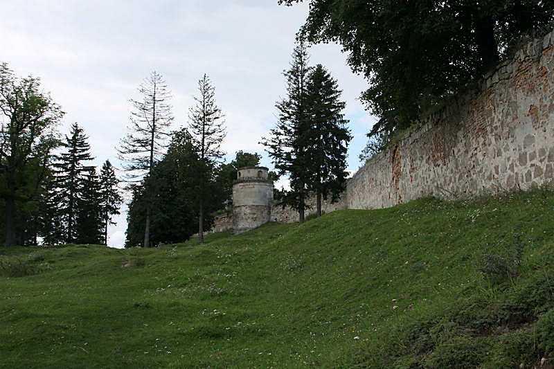 2011 р. Башта (9) та південний мур (8)