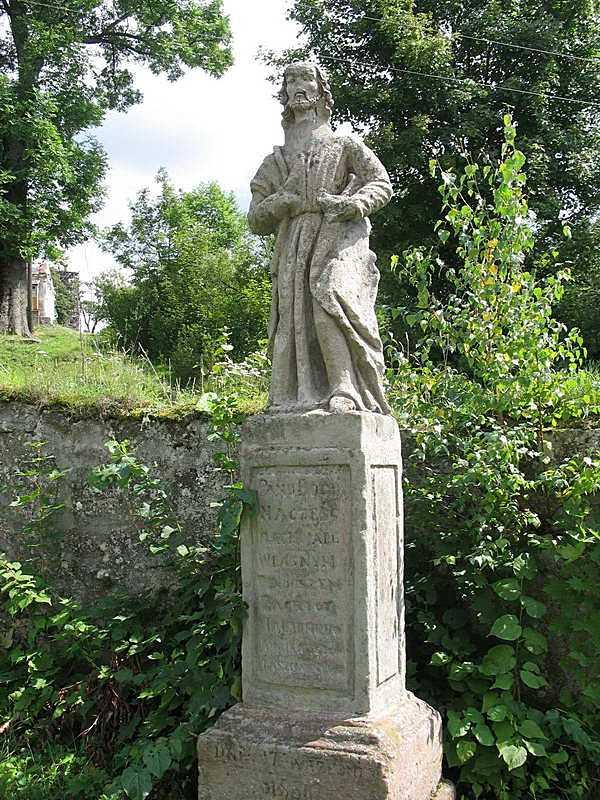 2011 р. Скульптура святого