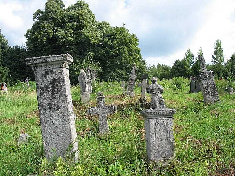 2011 р. Загальний вигляд старого цвинтаря