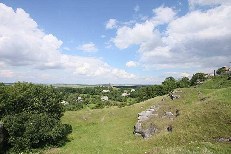 Панорама з південного заходу