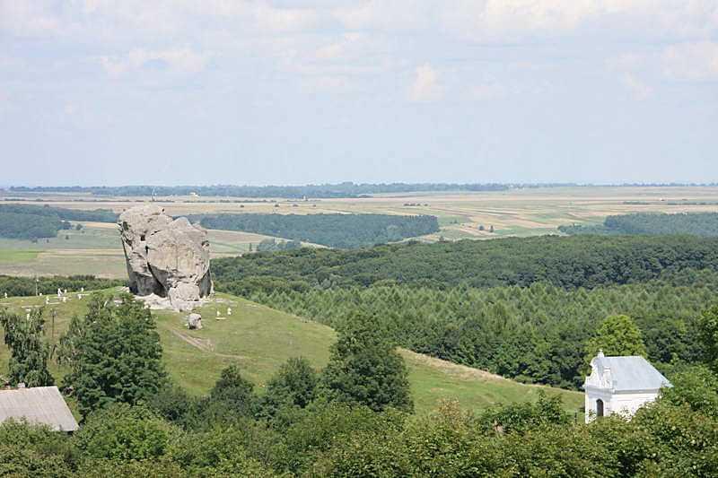 2011 р. Панорама каменю з півдня