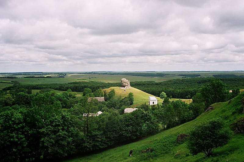 2003 р. Панорама каменю з півдня