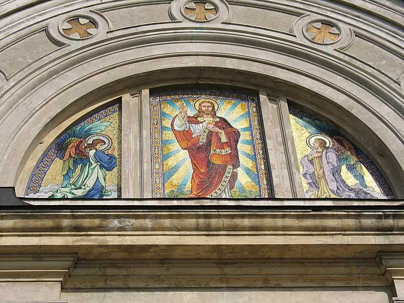 2006 р. Мозаїка «Христос з ангелами»
