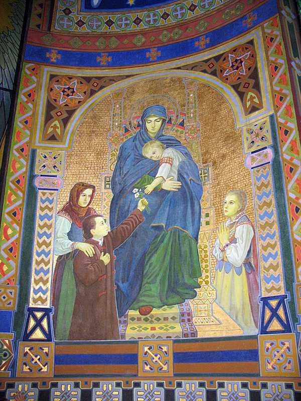 2006 р. Ікона богородиці з немовлям (2)