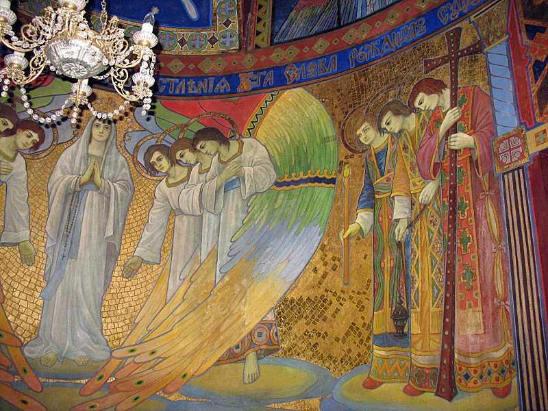 2006 р. Марія і ангели. Права частина