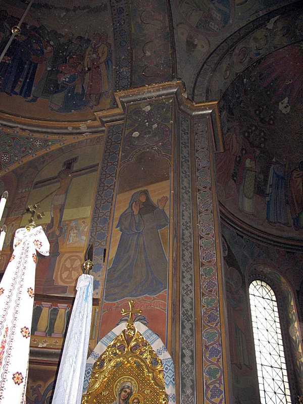 Стінопис «Св. Марія Єгипетська»