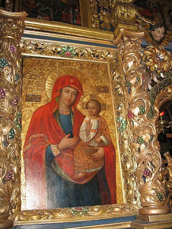 2007 р. Ікона «Богородиця провідниця»