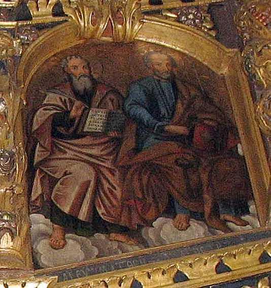 Пророки Матфій та Петро