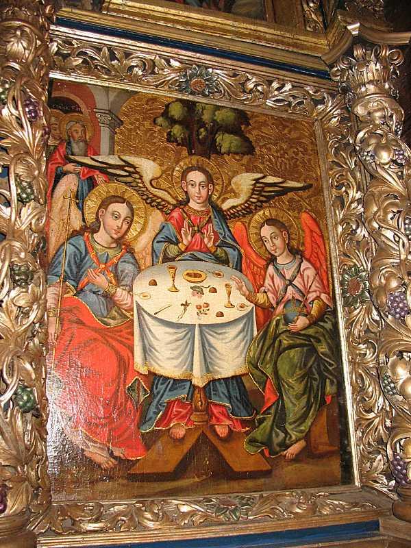 Ікона «Ветхозавітна Трійця» (2)