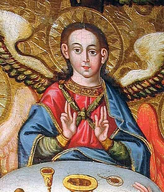 Півпостать середнього ангела