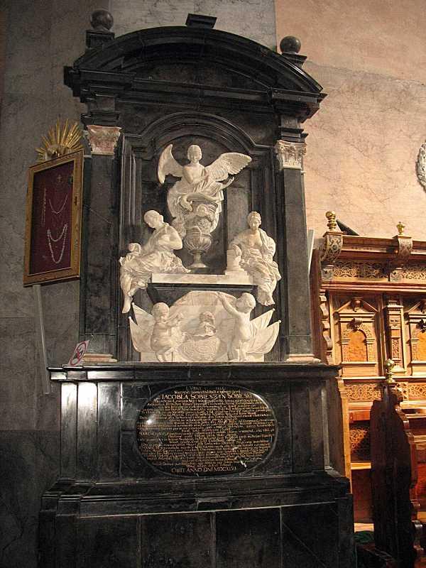 Надгробок Якуба Собеського