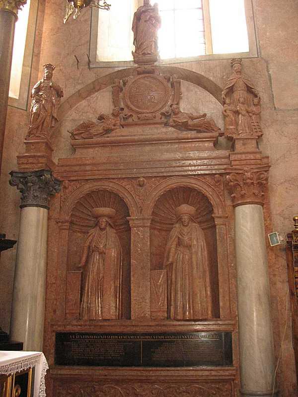 Надгробок Регіни і Софії Жолкевських