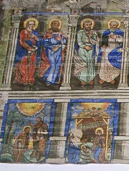 Апостоли 1 – 4, Хрещення, Різдво…
