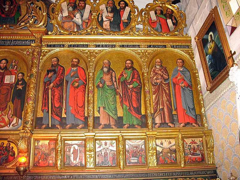 Апостольський та празниковий ряди…