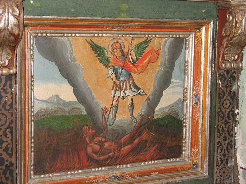 Боротьба архангела Михаїла із сатаною