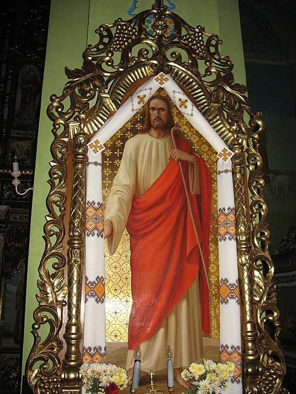 2007 р. Ікона «Ісус-пастир»