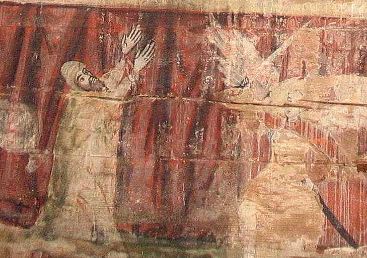 Нечестивий Афоній та архангел Михаїл