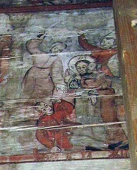 Петро відсікає вухо рабу