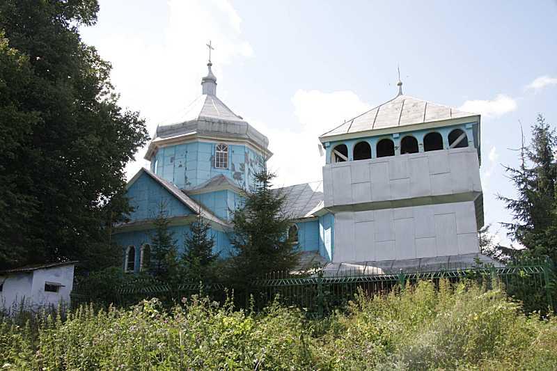 2009 р. Церква і дзвіниця. Вигляд з…