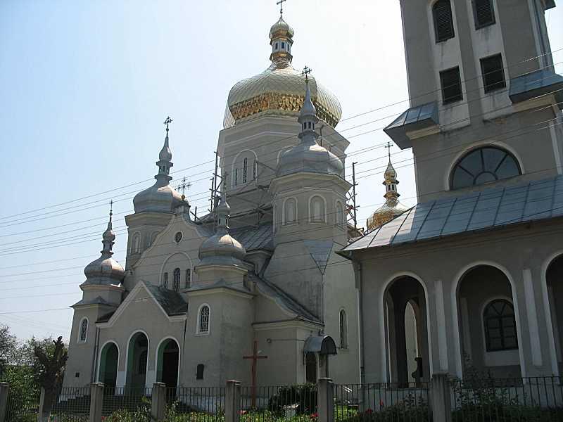 2010 р. Церква і дзвіниця. Вигляд з…