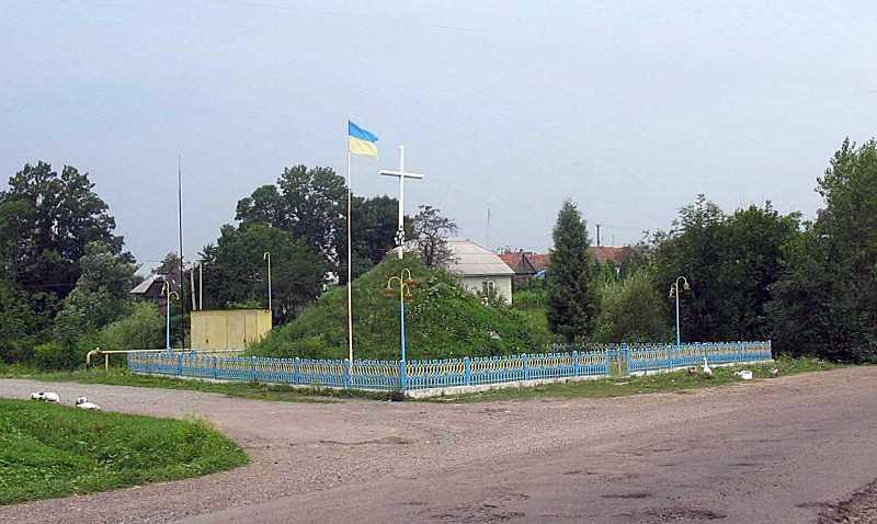 Пам'ятний курган борцям за волю України
