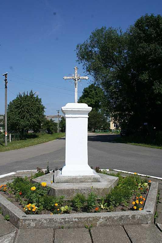 Пам'ятний хрест знесення панщини