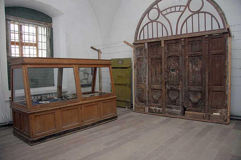 Експонати з радянської тюрми
