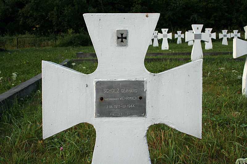 Могила Г. Шольца