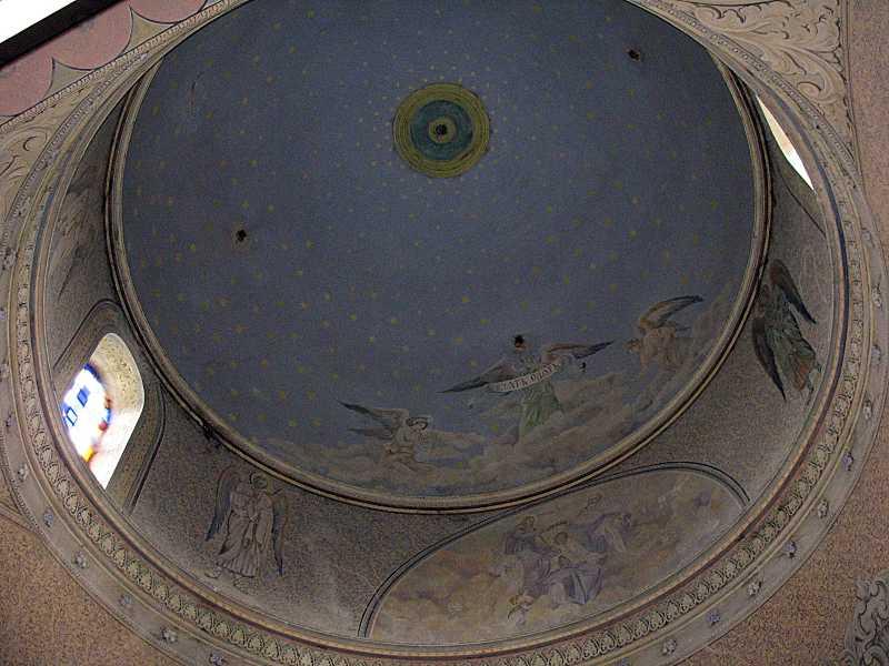 Інтер'єр купола над вівтарем
