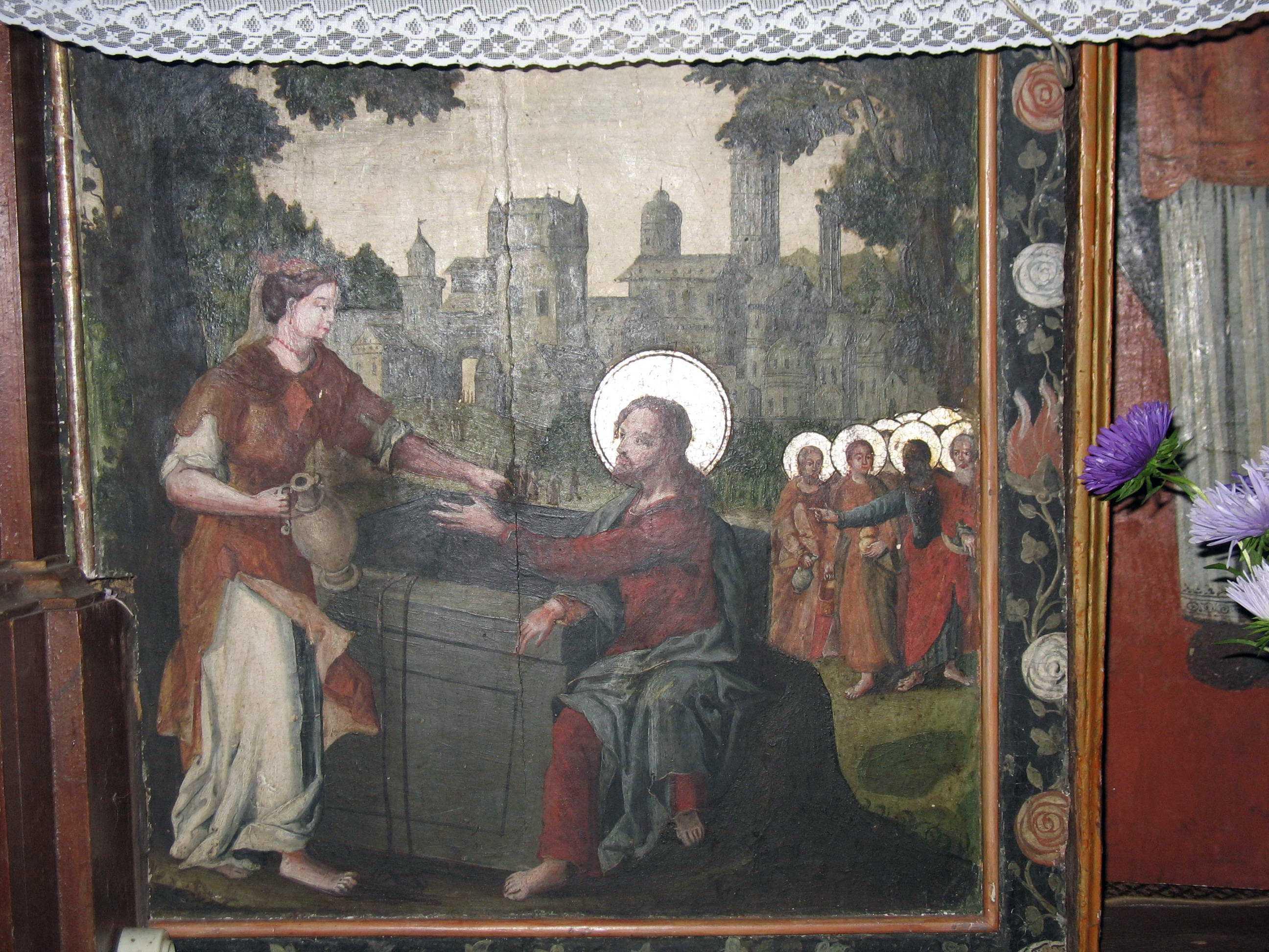 Ікона «Христос і самаритянка»