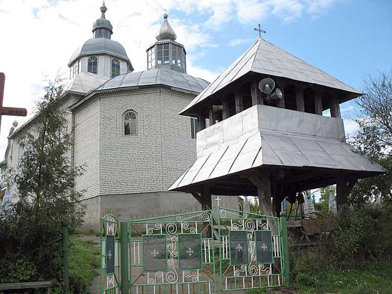 2006 р. Нова церква і дзвіниця